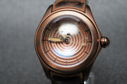 Corum Bubble Optical Art Limited Men's At 082.311. 98 From Japan [a0623