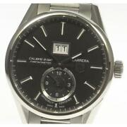 Tag Heuer Carrera Date War5010 Stainless Steel Automatic Ladies Watch[b0514]