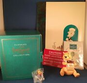 Wdcc 1996 Winnie The Pooh And The Honey Tree Time For Something Sweet Coa Box
