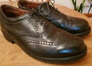 Alden Wing Tip Bal Oxford Black Style 811. Size 11.5 Eeee. Foot Balance System