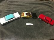 Lot Of 3 Arko Products Model Cars 1958 Edsel 146 Ford 1964 Mustang