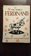 The Story Of Ferdinand Munro Leaf 1965 First Edition 3rd Print Rare Collectible