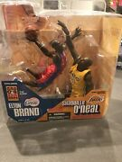 Mcfarlane Nba Elton Brand Shaquille Oand039neal 2004 All-star Exclusive Signed Nib