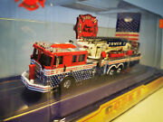 Code 3 Us Aerial Ladder Trucx Tower 2 Patriot Fire Dept 1/64 Car Limited Edition