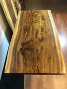 Slab Live Edge Acacia One Solid Wood Rare Piece Front And Back Nice L 47.5