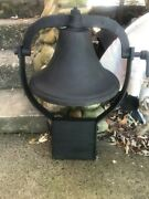 Antique Number 3 Cast Iron Farm Bell
