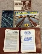 Over 20 Rare Vintage Lionel Manuals And How To Operate Books 1955 56 57