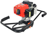 Xtremepowerus Post Hole Digger 2-man Gas Epa Dirt Digging Plant Fence Engine