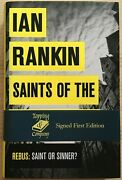 Saints Of The Shadow Bible By Ian Rankin, 2013 - First Edition Signed By Author