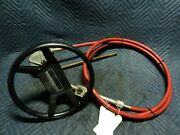 Rotary Helm14and039 Steering Cable+wheel1986-1990omc3.0cobra120hp