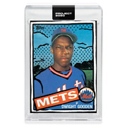Topps Project 2020 Card 26 Dwight Gooden By Joshua Vides W/ Box Card In Hand