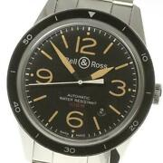 Bell And Ross Vintage Sports Heritage V-br123 Automatic Ss Menand039s Watch [b0519]