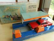 Bc Bandai Automatic Toll Gate Primus Valiant Tin Toy Vintage Rare From Japan R8