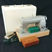 Sears Kenmore Sewing Machine Model 120 49 Electric Rotary 1950s Vintage