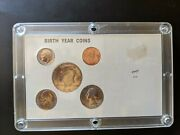1984 Birth Year Coin Set Uncirculated Condition 50c 25c 10c 5c 1c 5 Coins