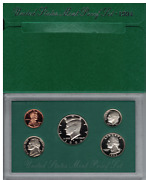 1994 United States Mint Proof Set 5 Coins Total