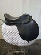 Gently Used Aires De Haute Gullikson-baines A/p Saddle 17.5 Medium/wide Tree. Andnbsp