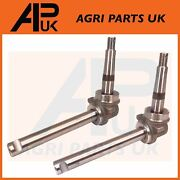 Pair Steering Spindle For Case International B275 276 B414 384 444 414 Tractor