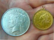 Gold And Silver Special A 10 Gold Eagle And A Silver Dollar