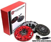 Acs Stage 2 Clutch Kit+race Flywheel For 2007-2013 Mazdaspeed 3 And 6 2.3l Turbo