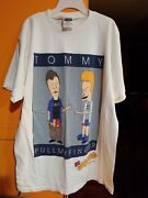 Vintage 90s Beavis And Butthead L Tommy Pull My Finger Mtv T-shirt