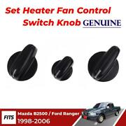Heater Fan Control Switch Knob Fit For 1998-05 Mazda B2500 B2600 Ford Courier