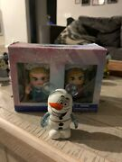 Disney Vinylmation Frozen Olaf, Elsa And Anna 3 Limited Edition 1500 Open Box