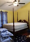 Macy's Four Poster Queen Size Bed Frame Gorgeous