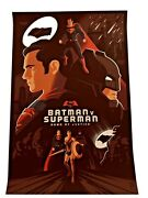 Batman V Superman Dawn Of Justice Movie Poster Variant By Tom Whalen