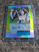 2019 Chronicles Will Grier Rc Auto Score Update Auto Gold Zone 40/40 Panthers