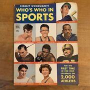 Stanley Woodward's Whos Who In Sports 1 1950 Ted Williams Rocky Graziano Vtg