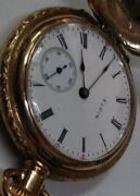 Made In America Elgin Antique Pocket Watch Manufactured 1900 Color Gold Rare