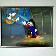 Disney Cel Picture With Original Background With No Picture Frame From Japan 1a
