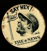 Pin Sports Baseball - New York Mets - Willie Mays Say Hey The News