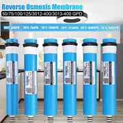 Home Kitchen Reverse Osmosis Ro Membrane Replacement Water System Filter