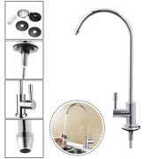 1/4 Inch 360anddeg Ro Water Filter Faucet Reverse Osmosis System Goose Neck Sink Tap