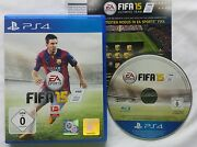 Sony Playstation 4 Fifa 15 Soccer 2015 Pal Video Game German Version Ps4