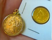 Gold, Silver Special 1/4 And 1/2 Gold Liberty Heads And Dome Bassball Silver Dollar