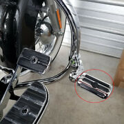 Chrome Motorcycle Engine Guard Highway Foot Pegs Rest For Harley Davidson Fatboy