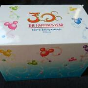 Tokyo Disneyland 30th Anniversary Card Case Color Gold Very Rare From Japan 3i