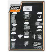 Colony 1006-p Complete Show Bike Kit Chrome Smooth Allen Hardware Harley 1987-8