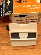 Vintage Sawyer's View-master Model G 3-d Viewer - New In Box - Plus 28 Reels