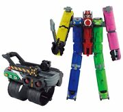 Ressha Sentai Toqger Dx Toq Oh Changer Set Power Rangers Bandai From Japan New