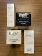 Philosophy Anti-wrinkle Miracle Worker Collection All New In Box