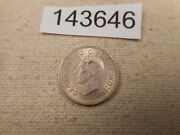 1938 Canada Ten Cents Nice Higher Grade Raw Unslabbed Collector Coin - 143646