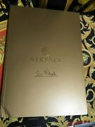 Versace Catalog Original Rosenthal Plates Cups Vase Crystal Ware 100 Pages Rare
