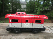 Antique Marx Caboose Nyc 20102 Tin Toy Railroad