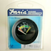Faria Marine Instruments Battery Indicator Coral 12 Volt 2 Inch 13012