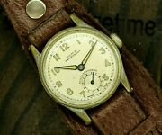Menand039s Wwii Era Vintage Military Pilot Olma Watch 1939 Year Collectible