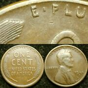 1924-s Ddr-001 Coneca Plate Coin Doubled Die Lincoln Cent Wheat Penny